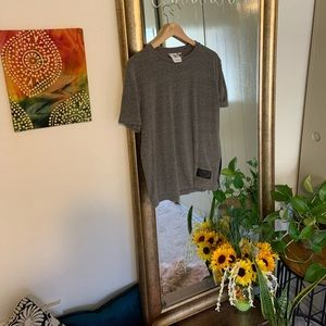 Gray adidas t-shirt medium